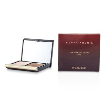 Kevyn Aucoin La Sombra de Ojos Duo - # 211 Pink Shell/ Deep Taupe  4.8g/0.16oz