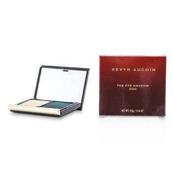 Kevyn Aucoin La Sombra de Ojos Duo - # 214 Pebble/ Smokey Teal  4.8g/0.16oz