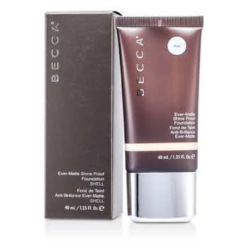 Becca Matte Skin Shine Proof Foundation - # Shell  40ml/1.35oz