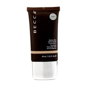 Becca Matte Skin Shine Proof Foundation - # Nude  40ml/1.35oz
