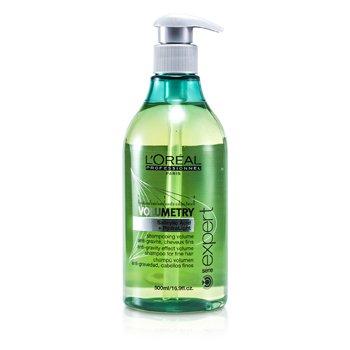 L'Oreal Shampoo Para Volume Professionnel Expert Serie - Volumetry Anti-Gravity (Para Cabelo Fino)  500ml/16.9oz