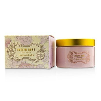 Crabtree & Evelyn Evelyn Rose Crema Corporal  170g/6oz