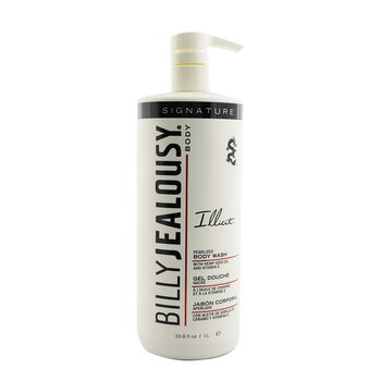 Billy Jealousy ILLICIT Pearlized Body Wash - Pembersih Tubuh  1000ml/33.8oz