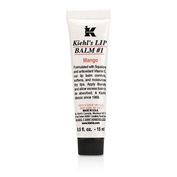 קיאלס באלם שפתיים # 1 וזלין להגנה על העור - Mango ok  15ml/0.5oz