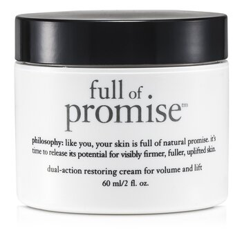 Philosophy Full Of Promise Crema Restauradora de Acción Dual Para Volumen y Levante  60ml/2oz