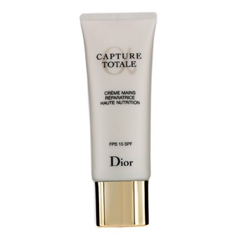 Christian Dior Capture Totale Haute Nutrition Crema Nutritiva Reparadora de Manos SPF 15  75ml/2.6oz
