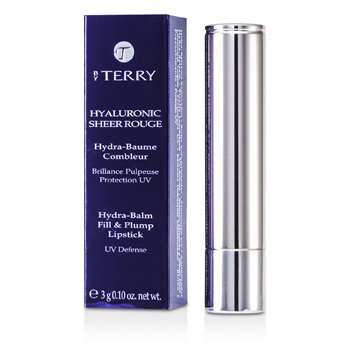 By Terry Hyaluronic Sheer Rouge Hydra Balm Fill & Plump Lipstick (UV Defense) - # 14 Plum Plump Girl  3g/0.1oz