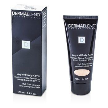 Dermablend Leg & Body Cover Broad Spectrum SPF 15 (Full Coverage & Long Wearability) - Beige  100ml/3.4oz