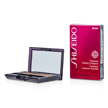 Shiseido Eyebrow Styling Compact - # BR602 Medium Brown  4g/0.14oz