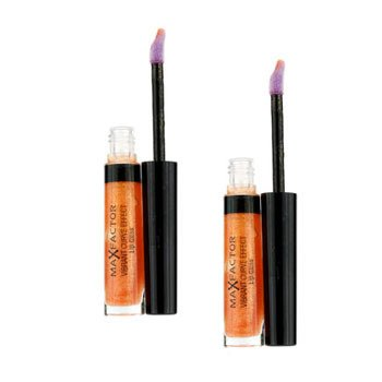 Max Factor Vibrant Curve Effect Lip Gloss Duo Pack - # 03 Trend-Setter  2x5ml/0.17oz