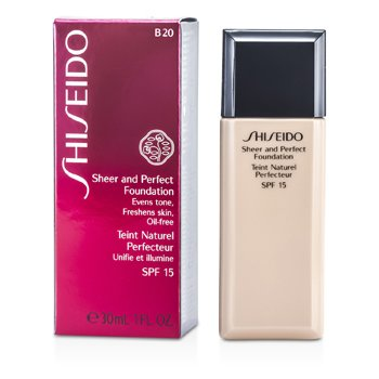 Shiseido Base Pura y Perfecta SPF 15 - # B20 Natural Light Beige  30ml/1oz