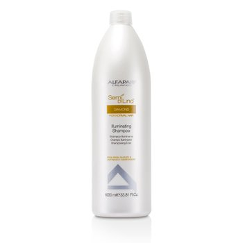 AlfaParf Semi Di Lino Diamond Champú Iluminante (Para Cabello Normal)  1000ml/33.81oz