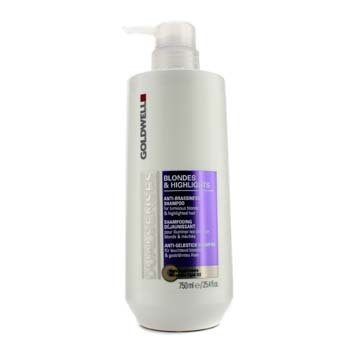 Goldwell Dual Senses Blondes & Highlights Anti-Brassiness Shampoo (For Luminous Blonde & Highlighted Hair)  750ml/25.4oz