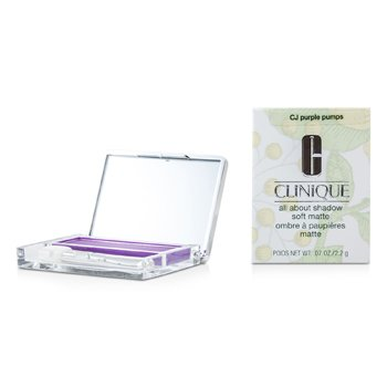 Clinique All About Shadow - # CJ Purple Pumps (Soft Matte)  2.2g/0.07oz