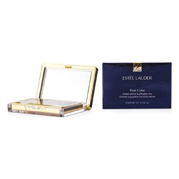 Estee Lauder Pure Color Instant Intense Eyeshadow Trio - # 07 Beach Metals  2g/0.07oz