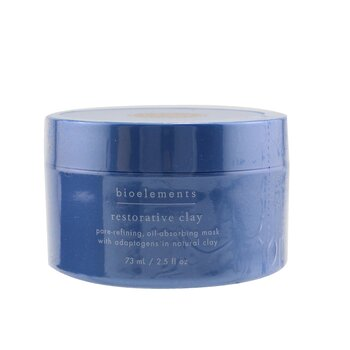 Bioelements Restorative Clay - Máscara Facial Refinadora de Poros  73ml/2.5oz