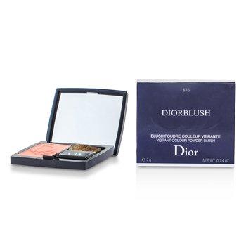 Christian Dior DiorBlush Vibrant Colour Powder Blush - # 676 Coral Cruise  7g/0.24oz