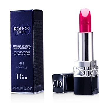 Christian Dior Rouge Dior Couture Colour Voluptuous Care  - # 671 Deauville  3.5g/0.12oz