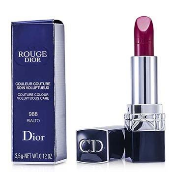 Christian Dior Rouge Dior Couture Colour Voluptuous Care - # 988 Rialto  3.5g/0.12oz