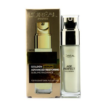 L'Oreal Age Perfect Cell Renew Golden Serum  30ml/1oz