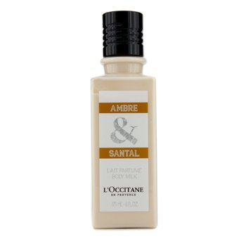 L'Occitane Ambre & Santal Body Milk  175ml/6oz