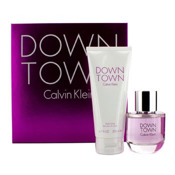 Calvin Klein Downtown Coffret: Eau De Parfum Spray 90ml/3oz + Loci�n Corporal 200ml/6.7oz  2pcs