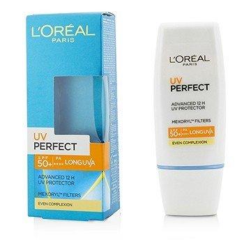 L'Oreal Dermo-Expertise UV Perfect 12H LongLasting UVA/UVB Protector SPF50+/PA+++ - #Even Complexion - Tabir Surya  30ml/1oz