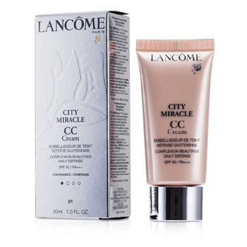 Lancôme City Miracle CC Cream SPF 50 - 01 Beige Dragee  30ml/1oz