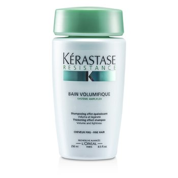 Kerastase Resistance Bain Volumifique Thickening Effect Shampoo (Untuk Rambut Halus)  250ml/8.5oz