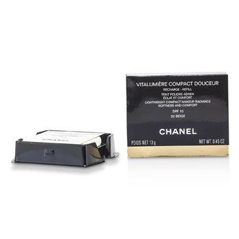 Chanel Vitalumiere Compact Douceur Lightweight Compact Makeup SPF 10 (Refill) - # 20 Beige  13g/0.45oz