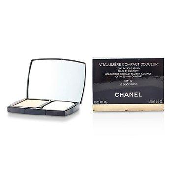 Chanel Vitalumiere Compact Douceur Lightweight Compact Makeup SPF 10 - # 12 Beige Rose  13g/0.45oz