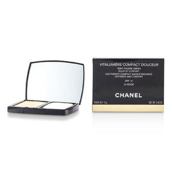 Chanel Vitalumiere Compact Douceur Maquillaje Compacto Ligero SPF 10 - # 20 Beige  13g/0.45oz