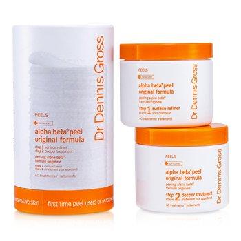 Dr Dennis Gross Alpha Beta Peel - Original Formula (For sensitiv hud; Krukke)  60 Treatments