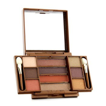 Fashion Fair Multi Level 10 Colors Eye Shadow Compact - # 9857 (Unboxed)  8.7g/0.306oz