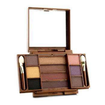 Fashion Fair Multi Level 10 Colors Eye Shadow Compact - # 9855 (Unboxed)  8.7g/0.306oz