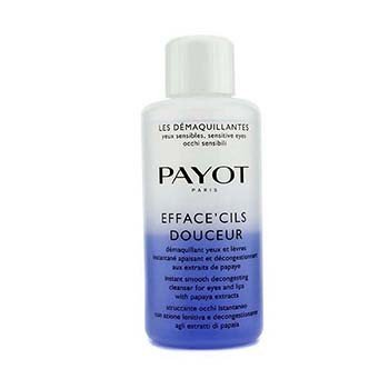 Payot Zmiękczający tonik do skóry strefy oczu i ust Les Demaquillantes Efface' Cils Douceur Instant Smooth Decongesting Cleanser For Eyes & Lips (duża pojemność)  200ml/6.7oz