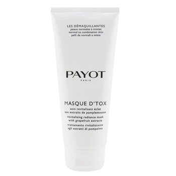 Payot Les Demaquillantes Masque D'Tox Detoxifying Radiance Mask - For Normal To Combination Skins (Salon Size)  200ml/6.7oz