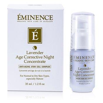 Eminence Concentrado Correctivo de Edad de Noche de Lavanda (Piel Normal a Seca, Especialmente Madura)  35ml/1.2oz