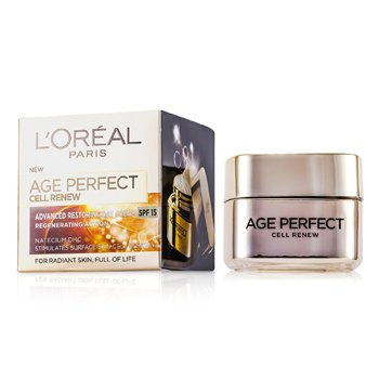 L'Oreal Age Perfect Cell Renew Advanced Restoring Day Cream SPF 15  50ml/1.7oz