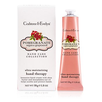 Crabtree & Evelyn Pomegranate, Argan & Grapeseed Ultra-Moisturising Hand Therapy  50g/1.8oz