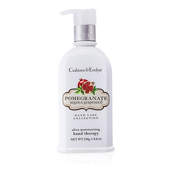 Crabtree & Evelyn Pomegranate, Argan & Grapeseed Ultra-Moisturising Hand Therapy  250g/8.8oz