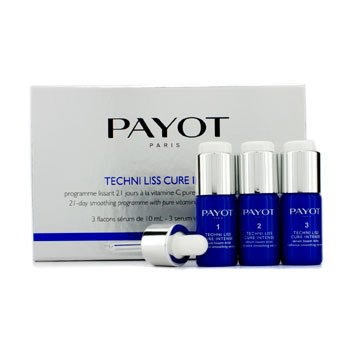 Payot 21-dniowy program wygładzający Techni Liss Cure Intense - 21-Day Smoothing Programme  3x10ml/0.34oz