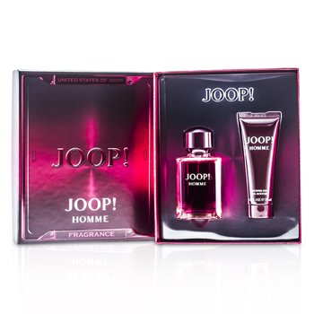 Joop Homme Coffret: Eau De Toilette Spary 75ml/2.5oz + Gel de Ducha 75ml/2.5oz (Caja Roja)  2pcs