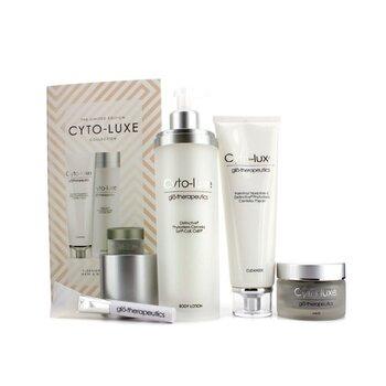 Glotherapeutics Cyto-Luxe Collection (Edição Limitada): Loção Para Corpo + Tônico de Limpeza + Mascara + Apllicador  4pcs