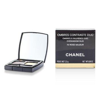 Chanel Ombres Contraste Sombra De Ojos Dúo - # 70 Rose Majeur  2.5g/0.09oz