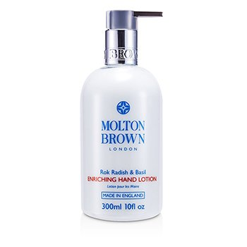 Molton Brown Balsam do rąk Rok Radish & Basil Enriching Hand Lotion  300ml/10oz