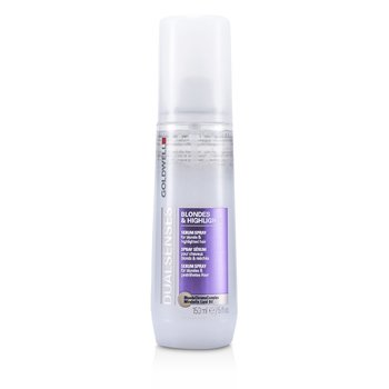 Goldwell Dual Senses Blondes & Highlights Serum Spray (For Blonde & Highlighted Hair)  150ml/5oz