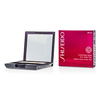 Shiseido Luminizing Satin Eye Color Trio - # BE213 Nude  3g/0.1oz