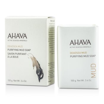 Ahava Deadsea Mud Purifying Mud Soap  100g/3.4oz