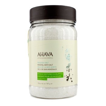 Ahava Deadsea Salt Eucalyptus Dead Sea Bath Salt  907g/32oz